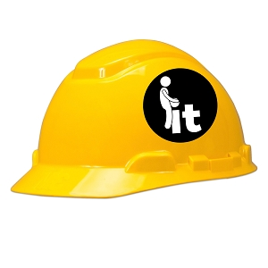 F*ck It Hard Hat Helmet Sticker